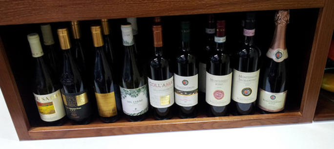 Enjoy the variety of Italian Wine